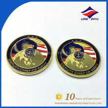 Cheap Price Fake Gold Coins Personalized Commemorative Coins