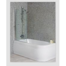 Luxus-Links-Duschbad mit geradem Bad-Bildschirm