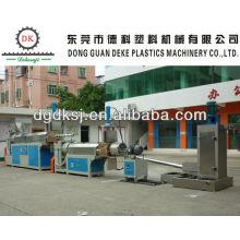 Machine d'extrudeuse en plastique de rebut