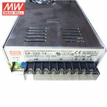 MEAN WELL Fonte de Alimentação SP-320-15 MW PFC 320W 15V