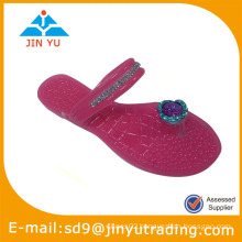 2014 jelly shoes with crystals