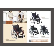 Алюминиевое складное легкое кресло-коляску для инвалидов (FL-HPQ)