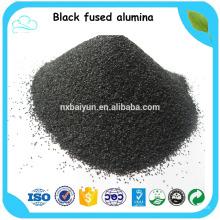 Polvo de alúmina / corindón fundido negro para pulir cera