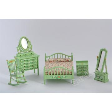 Dollhouse Mini Bedroom set