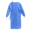Robe chirurgicale médicale jetable d'hôpital