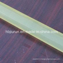 Bâton de coulée PU jaune clair de haute qualité