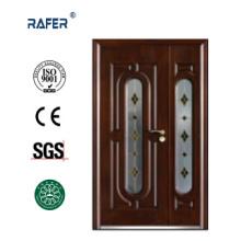 Mother Son Steel Glass Door ()RA-S172)