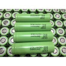 18650 Bateria de lítio para Samsung Icr18650-30b 3000mAh 3.7V Bateria para laptop