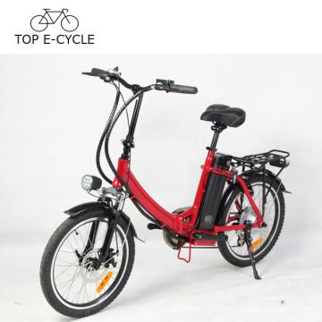Bicicleta elétrica do ciclo superior de E 20 polegadas Bicicleta de dobramento elétrica do motor poderoso de Ebike 36V 300W Foldable