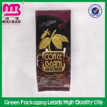 Atteindre le sac d'emballage de grains de café rôti résistant à l'humidité de norme américaine