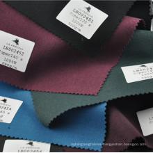 Fancy color serge suit fabric wool