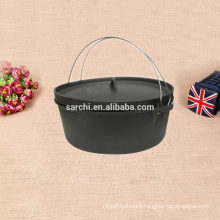 Indoor and Outdoor Cast iron non-stick soup pot