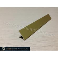 T Floor Aluminum Transition Tile Edge Trim Matt Gold