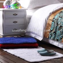 Alfombra de baño del hotel / Alfombra de baño cambiante de algodón de color fino