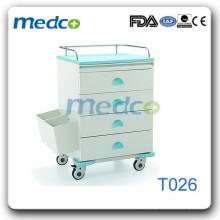 Trole de droga de mudança de aço T026