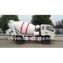 FOTON 4x2 Betão Misturador caminhão motor diesel misturador de concreto