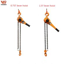 Bloque de cadena del alzamiento de cadena de la palanca manual de la cadena G80
