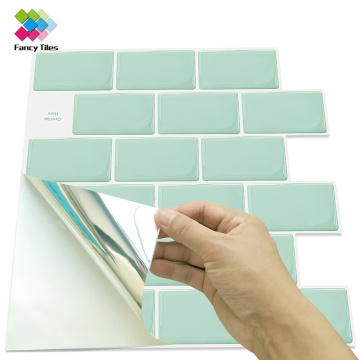 Peel and Stick Tile Backsplash Kitchen papel tapiz 3d