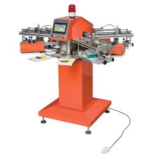 SPF 4 Color Small Label Logo Printing Machine For T-shirt clothes