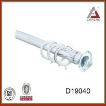 D19040 new design crystal glass curtain rod finial,decoration curtain accessories,curtain rod set