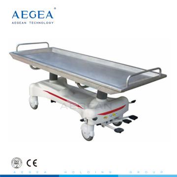 AG-HS012 Equipo de primeros auxilios hospital rescate médico camilla ambulancia hidráulica camilla de ambulancia hidráulica
