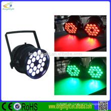 Led-par 64 18x9W RGB 3in1 führte par64 Innenhochzeitsbeleuchtung