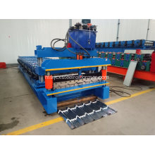 Galvanized Aluminum Metal Roof Tile Roll Forming Machine