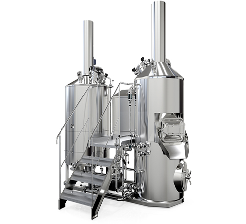 5hL 3 vessel brewhouse