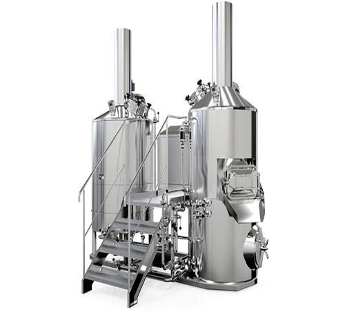 5hL 3 vessel brewhouse