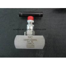 Válvula de agulha Ss316 de alta pressão