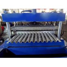 Máquina formadora de rollos de plataforma de piso de tren de alta precisión