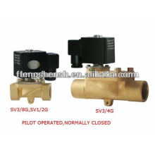 solenoid valves water valves SV-G series internal thread SV3/4G