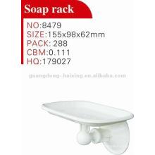 Plastic soap rack
