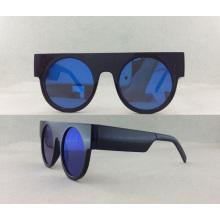 Acetate de la manera y gafas de sol polarizadas metal P02003