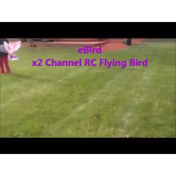 Dowellin RC Bird RC Airplane 2.4 GHz Remote Control E-Bird Flying Birds Electronic Mini RC Drone Toys