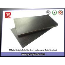Feuille de bakélite antistatique avec la taille 1020X1220mm