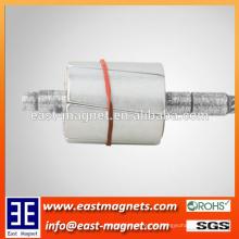 Seltene Erde gebogene Magnete für Rotor / kundenspezifische Bogenform ndfeb Magnet