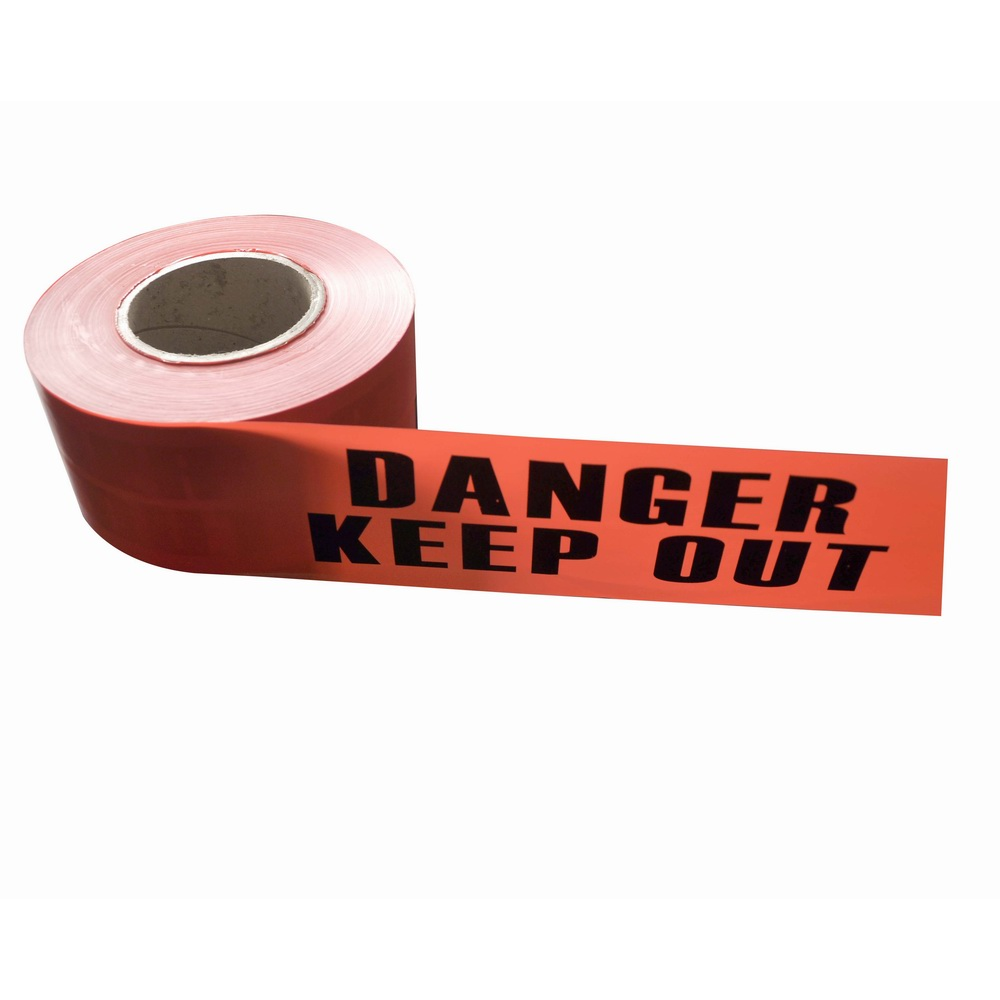 PE Warning Tape No Adhesive