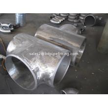 Tubería de acero galvanizado Equal Tee