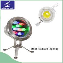 Edelstahl Outdoor Dekoration LED Untertage Licht