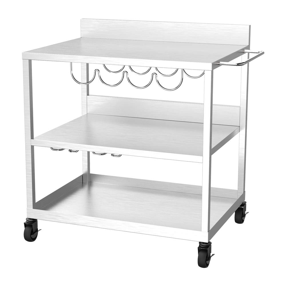 Plancha Gas Grill Trolley