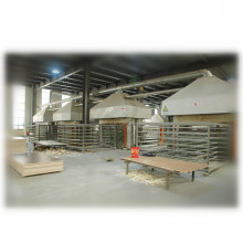 China YUJIE plywood production line and melamine hot press machine of door press machine