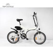 Bon prix pedelec ebike avec des cellules de batterie de Samsung électrique pliant vélo vélo à vendre