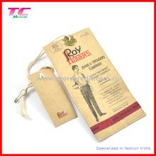 Kraft Paper Swing Tag/Hangtag (TC-HT687)