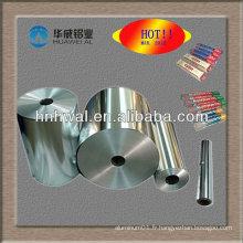 Papier d'aluminium à haute qualité