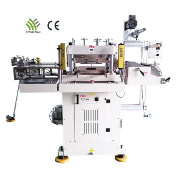 Machine de découpe automatique d'étiquettes adhésives à grande vitesse