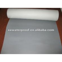 Matériau imperméable au pvc avec tissu