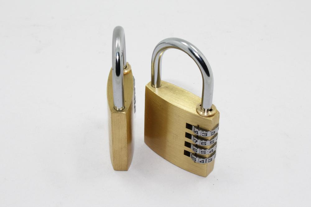 50MM Solid Brass Combination Lock