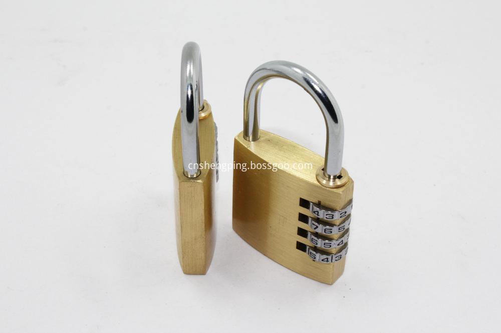 50MM Solid Brass Combination Lock