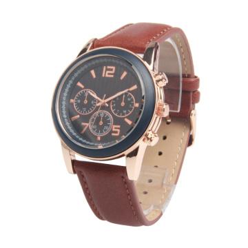 Montre pas cher de quartz de prix / personnaliser la montre de quartz / OEM a stigmatisé la Chine usine